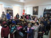 Anaokulu öğrencilerinden emniyet müdürlüğüne ziyaret