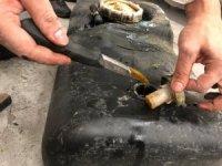 Benzin deposunda 115 kilogram kaçak bal ele geçirildi