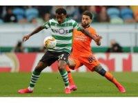 UEFA Avrupa Ligi: Sporting Lizbon: 2 - Medipol Başakşehir: 0 (İlk yarı)