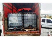 Kütahya'da 6 bin litre kaçak akaryakıt ele geçirildi