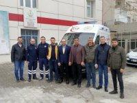 Tosya 112 Acil Servisine ambulans törenle teslim edildi