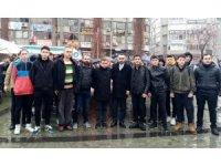 Edremit'te Ülkücüler Şehit Fırat'ı unutmadılar