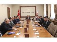 Amasya'da asayiş masaya yatırıldı