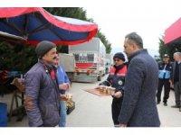 Bolu Belediyesi, pazar esnafı ile vatandaşlara çorba ikram etti