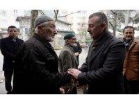 Başkan Büyükakın ,Cami cemaatiyle bir araya geldi