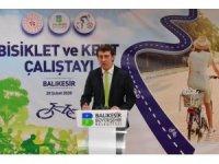 Balıkesir'de bisiklet ve kent çalıştayı