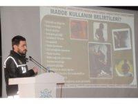 Cizre polisinden üniversite öğrencilerine uyuşturucu semineri