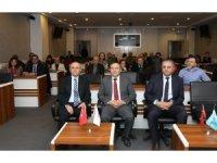 ERÜ Rektörü Çalış, Uluslararası Öğretim Üyeleri İle Bir Araya Geldi