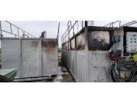 Tekirdağ'da doğal gaz kuyusunda yangın:  1 yaralı