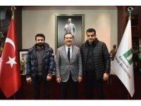 Muşlulardan Başkan Ataç'a ziyaret