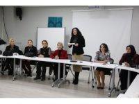 'Aile Kadın ve Çocuk Komisyonu' Nilüferli kadınlara tanıtıldı