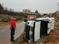Erdemli'de trafik kazası: 4 yaralı