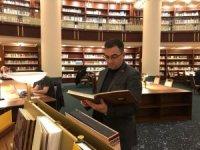 Başkan Erdoğan, Millet Kütüphanesini gezdi