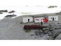 Bilim heyeti, Antarktika Türk Üssü'ne ulaştı