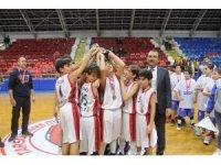 Okul Sporları Küçükler Basketbol İl Birinciliği sona erdi