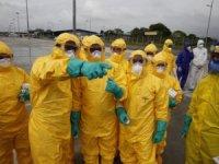 Korona virüs salgıınında ölü sayısı 2 bin 361'e ulaştı.