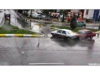 Sakarya'daki trafik kazası KGYS'ye yansıdı