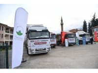 Osmangazi'den İdlib'e yardım TIR'ı