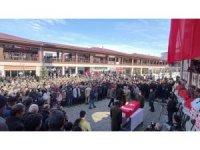 Görev başında hayatını kaybeden Albay Ejder Kanter, gözyaşları arasında toprağa verildi