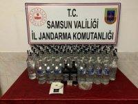 Samsun'da sahte içki ve uyuşturucu madde operasyonu: 2 gözaltı