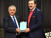 TOBB Başkanı Hisarcıklıoğlu, Afyonkarahisar'da