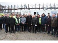 Bakan Soylu, konteyner kentleri inceledi