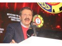 """TOBB Başkanı Hisarcıklıoğlu: """"Türkiye'deki teknolojik değişime dünyayla aynı zamanda yarışa başlamış olacak"""""""