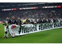 Beşiktaş ve Trabzonspor, Hanau'yu unutmadı