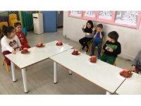 Odunpazarı'nda minik öğrencilerin atölye çalışmaları