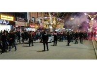 Erzincan'da derbi maçın ardından gerilim