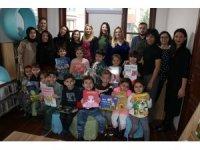"""Kartal'da """"Eğlenceli Çocuk Kütüphanesi"""", kapılarını ilk kez, kreş öğrencilerine açtı"""
