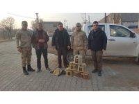 Iğdır'da canlı mühre ve tuzaklı keklik avına 18 bin 288 lira ceza kesildi