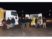 Saray  Kaymakamlığı hasar gören  depremzedelere yardım