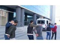 Bursa'da uyuşturucu operasyonunda 4 tutuklama