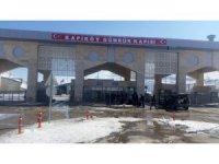 Kapıköy Sınır Kapısı'nda sessizlik hakim