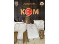 Kırıkkale'de 146 kilogram kaçak tütün ele geçirildi