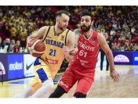 FIBA 2021 Avrupa Şampiyonası Elemeleri: İsveç: 87 - Türkiye: 80