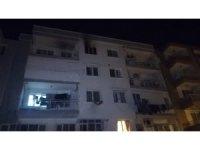 İzmir'de ev yangını: 1 kişi dumandan etkilendi