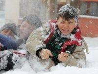 Otlukbeli'de kar tatili