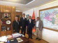Başkanlardan Karayolları Bölge Müdürü Güzel'e 'Hayırlı olsun' ziyareti