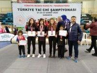 Yunusemreli wushucular Sakarya'dan madalyalarla döndü