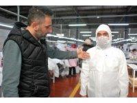 """Türkiye'den dünyaya """"Korona virüsü tulumu"""", siparişleri yetiştiremiyorlar"""