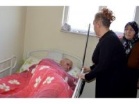 Sağlık Müdürlüğü Yatalak Hastaların Yaşam Kalitesini Arttırmaya Devam Ediyor