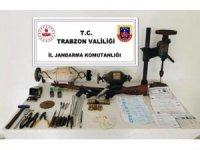 Trabzon'da silah imalathanesi baskın
