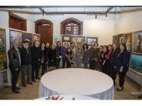 'Çukurova'nın Kadınları Karma Resim Sergisi' eski Gülnar Otelinde açıldı
