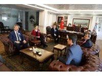 Vergi Dairesi Başkanı Günçavdı'dan Başkan Palancıoğlu'na Ziyaret