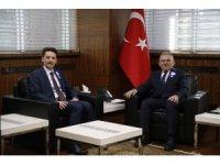 Başkan Büyükkılıç, Vergi Haftası nedeniyle Kayseri Vergi Dairesi Başkanı Günçavdı ile görüştü
