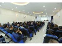 İpekyolu Belediyesi'nde personellere koronavirüs eğitimi verildi