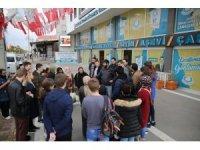 Yabancı öğrenciler Haliliye'nin hizmetlerine hayran kaldı