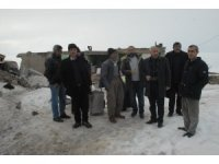 MHP'den depremzedelere ziyaret
